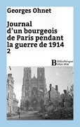 Journal d'un bourgeois de Paris pendant la guerre de 1914 - 2