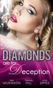 Diamonds are for Deception: The Carlotta Diamond / The Texan's Diamond Bride / From Dirt to Diamonds (Mills & Boon M&B)