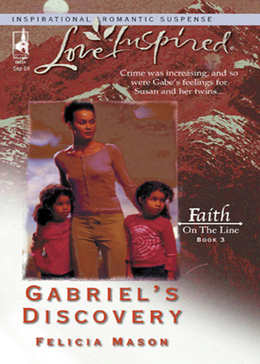 Gabriel's Discovery (Mills & Boon Love Inspired) (Faith on the Line, Book 3)