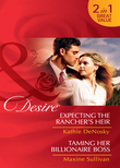 Expecting the Rancher's Heir / Taming Her Billionaire Boss: Expecting the Rancher's Heir (Dynasties: The Jarrods, Book 3) / Taming Her Billionaire Boss (Dynasties: The Jarrods, Book 4) (Mills & Boon Desire)