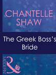The Greek Boss's Bride (Mills & Boon Modern) (Greek Tycoons, Book 26)