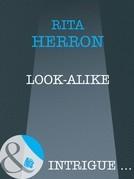 Look-Alike (Mills & Boon Intrigue)