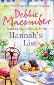 Hannah's List (A Blossom Street Novel, Book 7)
