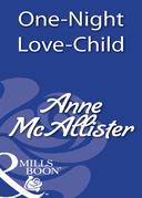 One-Night Love-Child (Mills & Boon Modern)