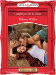 Cowboys Do It Best (Mills & Boon Vintage Desire)