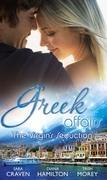 Greek Affairs: The Virgin's Seduction: The Virgin's Wedding Night / Kyriakis's Innocent Mistress / The Ruthless Greek's Virgin Princess (Mills & Boon M&B)