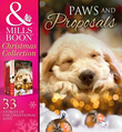 Paws And Proposals: On the Secretary's Christmas List / The Patter of Paws at Christmas / The Soldier, the Puppy and Me / Holiday Haven / Home for Christmas / A Puppy for Will / The Dog with the Old Soul (Mills & Boon e-Book Collections)