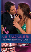 The Antonides Marriage Deal (Mills & Boon Modern) (Wedlocked!, Book 54)