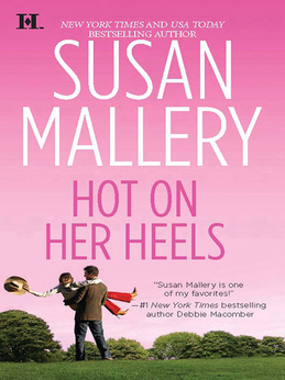 Hot on Her Heels (Mills & Boon M&B) (Lone Star Sisters, Book 5)