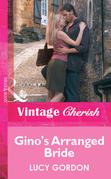Gino's Arranged Bride (Mills & Boon Cherish)