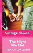 The Night We Met (Mills & Boon Cherish)