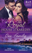 The Royal House of Karedes: One Family: Ruthless Boss, Royal Mistress / The Desert King's Housekeeper Bride / Wedlocked: Banished Sheikh, Untouched Queen (Mills & Boon M&B)