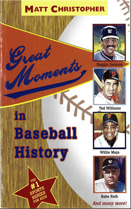 Great Moments in Baseball History