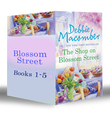 Blossom Street Bundle (Books 1-5): The Shop on Blossom Street / A Good Yarn / Susannah's Garden / Christmas Letters / The Perfect Christmas / Back on Blossom Street (Mills & Boon e-Book Collections)