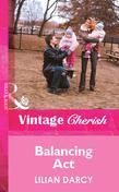Balancing Act (Mills & Boon Vintage Cherish)