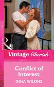 Conflict of Interest (Mills & Boon Vintage Cherish)