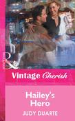 Hailey's Hero (Mills & Boon Vintage Cherish)