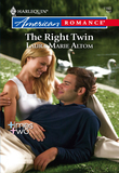 The Right Twin (Mills & Boon American Romance)
