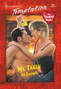 Ms. Taken (Mills & Boon Temptation)