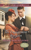 The Engagement Bargain (Mills & Boon Love Inspired Historical) (Prairie Courtships, Book 1)