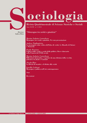 Sociologia n. 1/2014