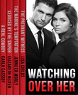 Watching Over Her: The Pregnant Witness / The Marine's Temptation / Seduced by the Sniper / A Real Cowboy (Mills & Boon e-Book Collections)