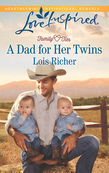 A Dad for Her Twins (Mills & Boon Love Inspired) (Family Ties (Love Inspired), Book 1)