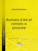Romans à lire et romans à proscrire
