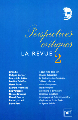Perspectives critiques : la Revue 2