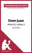Dom Juan de Molière - Acte III, scène 2