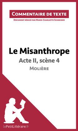 Le Misanthrope de Molière - Acte II, scène 4