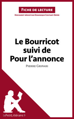 Le Bourricot suivi de Pour l'annonce de Pierre Gripari (Fiche de lecture)