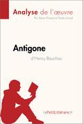 Antigone d'Henry Bauchau (Fiche de lecture)