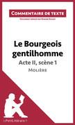 Le Bourgeois gentilhomme de Molière - Acte II, scène 1