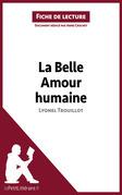 La Belle Amour humaine de Lyonel Trouillot (Fiche de lecture)