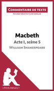 Macbeth de Shakespeare - Acte I, scène 5