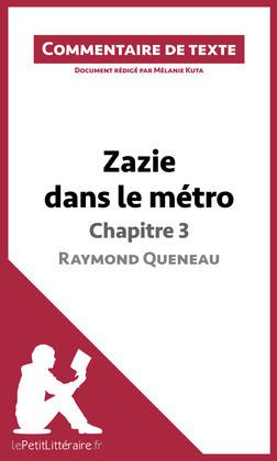 Zazie dans le métro de Raymond Queneau - Chapitre 3