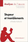 Stupeur et Tremblements d'Amélie Nothomb (Fiche de lecture)