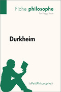 Durkheim (Fiche philosophe)