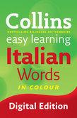 Easy Learning Italian Words (Collins Easy Learning Italian)