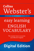 Webster's Easy Learning English Vocabulary (Collins Webster's Easy Learning)