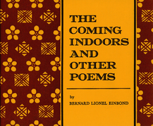 Coming Indoors and Other Poems