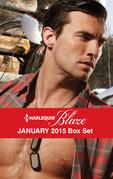 Harlequin Blaze January 2015 Box Set