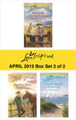 Love Inspired April 2015 - Box Set 2 of 2