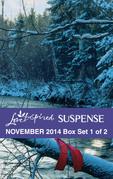 Love Inspired Suspense November 2014 - Box Set 1 of 2