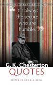 G. K. Chesterton Quotes