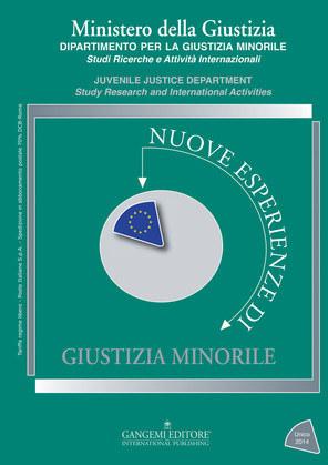 Nuove esperienze di giustizia minorile Unico 2014