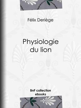 Physiologie du lion