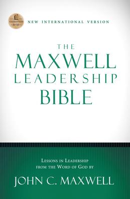 NIV, The Maxwell Leadership Bible, eBook