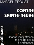 Contre Sainte-Beuve
